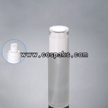 80ml Frosted Glass Bottles with Lotion Pump